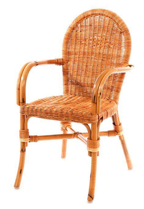 Franse pitriet stoel hoge rug  Rieten eetkamerstoelen