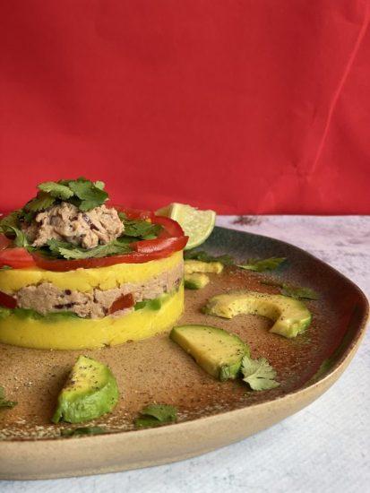 Causa Limeña met tonijn – Peruaans voorgerecht