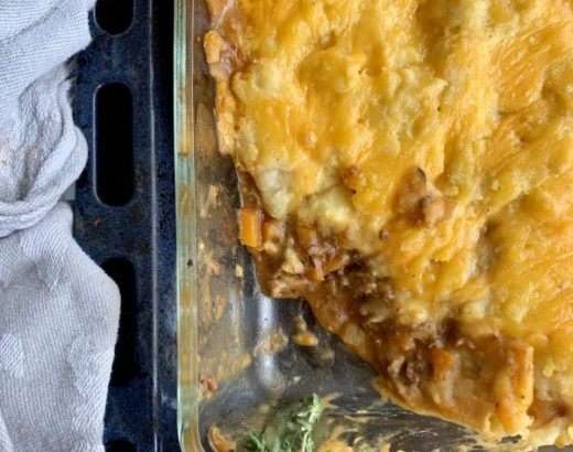 Engelse cottage pie