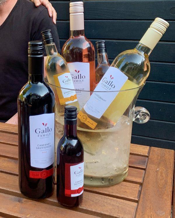 Gallo wijnenproeverij wijn-spijs