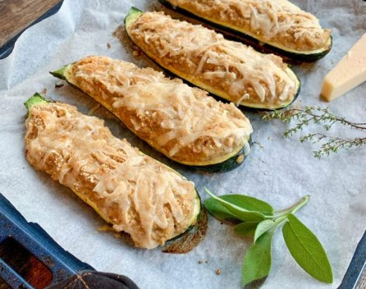 Italiaanse courgette gevuld