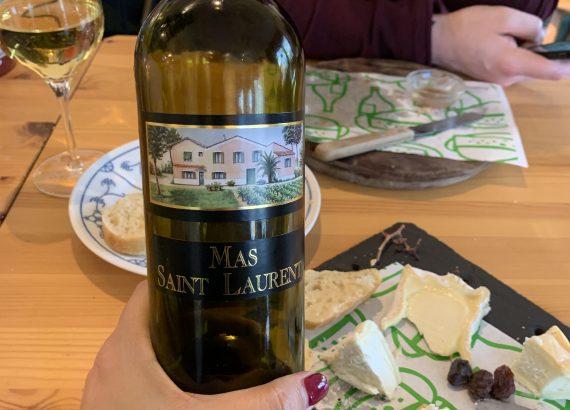 Bijpassende witte wijn Mas Saint Laurent