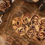 Pizza rolls met truffel en champignons