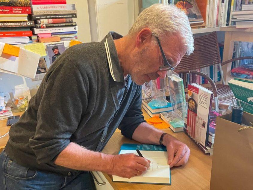 Signeren Harold Hamersma