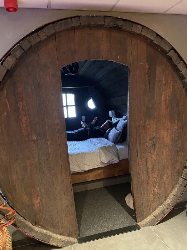 Slaapkamer wijnvat