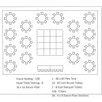 Tent Layouts Seating Capacity Chart Aa Party And Tent Rentals Dallas Fort Worth
