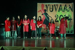 Maharaja Agrasen College organized its Annual Cultural Festival