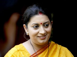 Smriti Irani – from an actress to a cabinet Minister