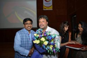 Tigmanshu Dhulia interacted with VIPS student in Film Festival