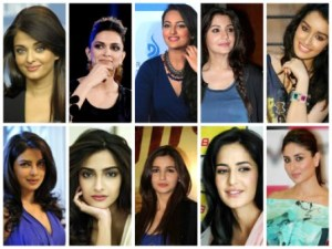 TOP 10 BOLLYWOOD ACTRESSES-2014