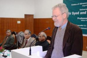 Prof David Lelyveld delivers extension lecture in AMU