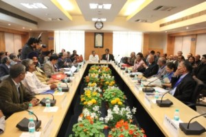 NAAC Peer Team visits Jamia for Assessment and Accreditation