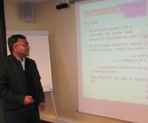 AMU Faculty present the research paper at International Conference