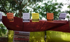 The Democratic Teachers' Front (DTF) declared Candidates for DUTA Elections 2015