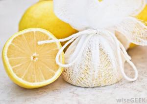 half-a-lemon-wrapped-in-cheesecloth