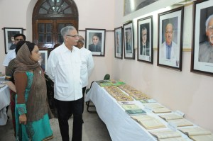 Exhibition of portraits held at AMU