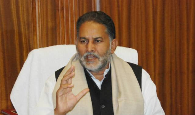 Ram Bilas Sharma,Education Minister Haryana [file photo]