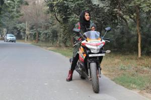 Meet this Lady Biker from Jamia who is gaining national attention