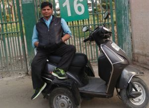 See how this differently abled Jamia student inspires many
