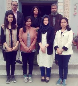 Seven students from Women's College of AMU placed in MNC through campus recruitment