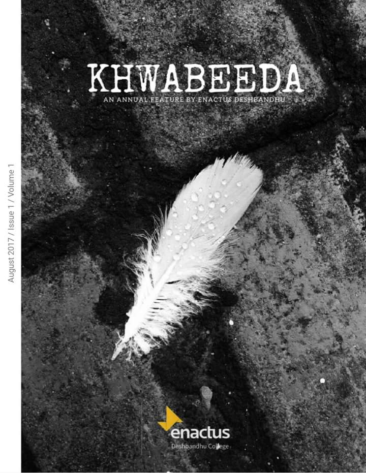 Enactus Deshbandhu's all set to launch it magazine, Khwabeeda.