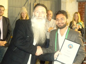 AMU Phd student receives 'Science Communication Award' in Australia