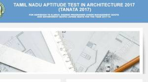 Tamil Nadu Introduces Tamil Nadu Aptitude Test in Architecture (TANATA); 5 Facts to Know Before Applying
