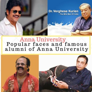 Popular faces and famous alumni of Anna University
