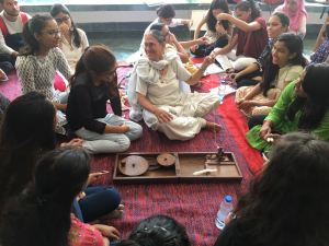 Khadi Utsav: Celebrating Gandhi at DU's Miranda House