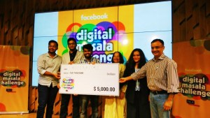 AMU students win Facebook Hackathon in Mumbai; Get Reward of Five Thousands Dollar