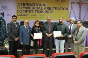 GD Goenka successfully concludes Commercial Arbitration Competition 2017
