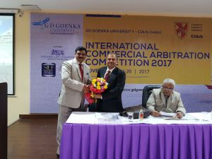 G D Goenka inaugurates CIArb International Commercial Arbitration Competition 2017
