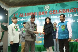 Jamia Hosted Annual Alumni day, Awarded its distinguished Alumni for the first time