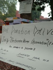 "A group of Jamia Alumni Launches ""Book Donation Drive"""