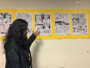 Jamia students give social message through comics
