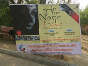 Film screening on love jihad disrupted at JNU