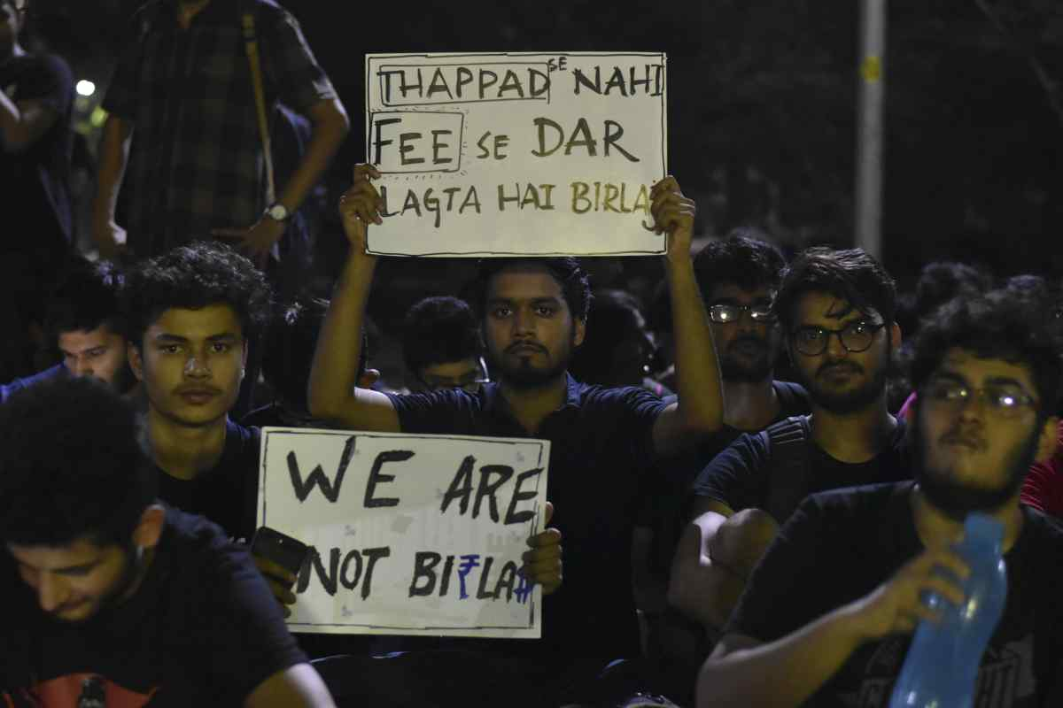 Administration responds positively, BITsians peaceful protest shows its ripple effect