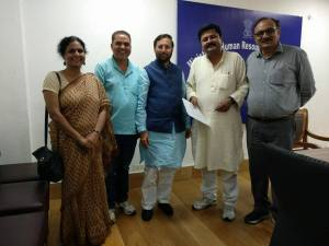 DU Teachers' Association delegation meets HRD minister over UGC circular