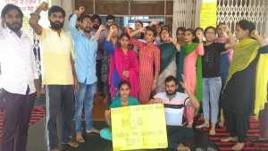Students strike enters 8th Day in Punjabi University; students demand 24 hours girls hostel timing