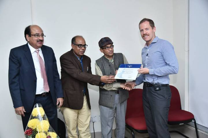Dr. Zakir Husain Library, JMI conferred with the 'Highest Usages Award' by ProQuest