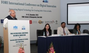 International Conference on Digital Innovation Technologies for creating safer cities in India