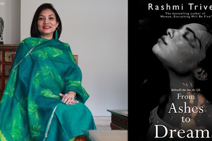 """Meet Rashmi Trivedi, author of the bestselling new novel, 'From ashes to dreams"""""""