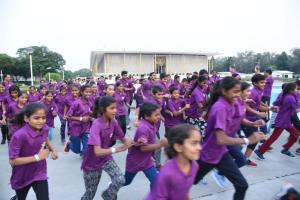 "Haryana's Underprivileged Students ""Run for a healthy life"" in US Embassy"