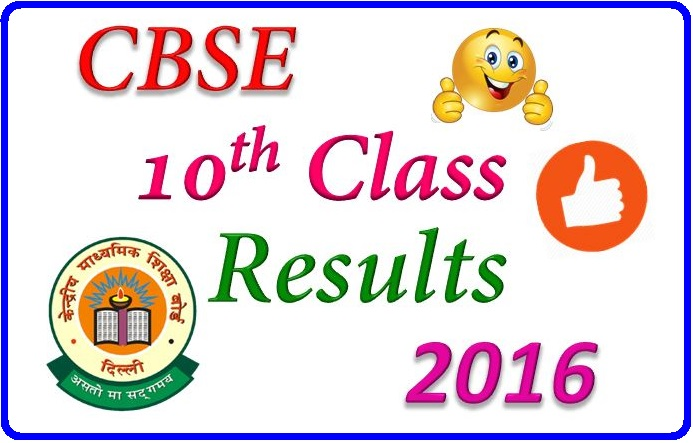 CBSE-10th-Result-2016