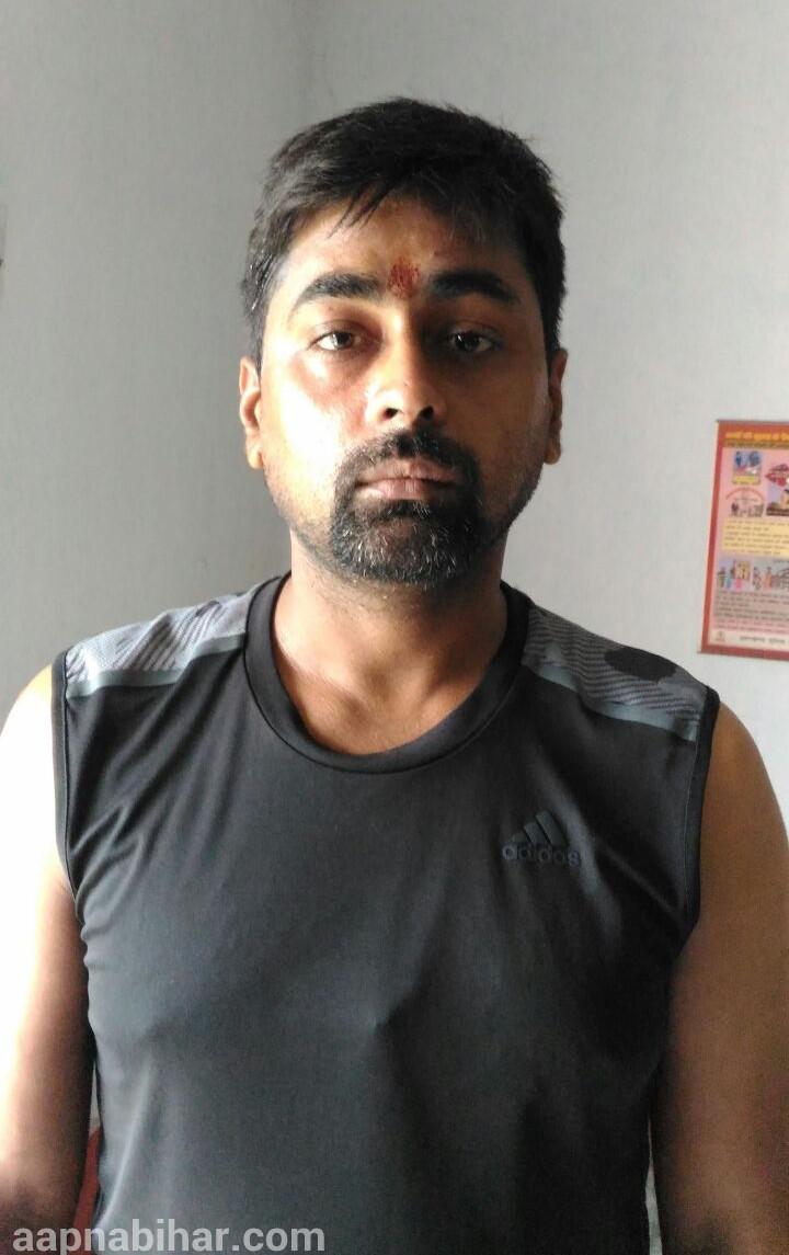 Exclusive pic: गिरफ्तारी के समय का मुकेश पाकठ का फोटो