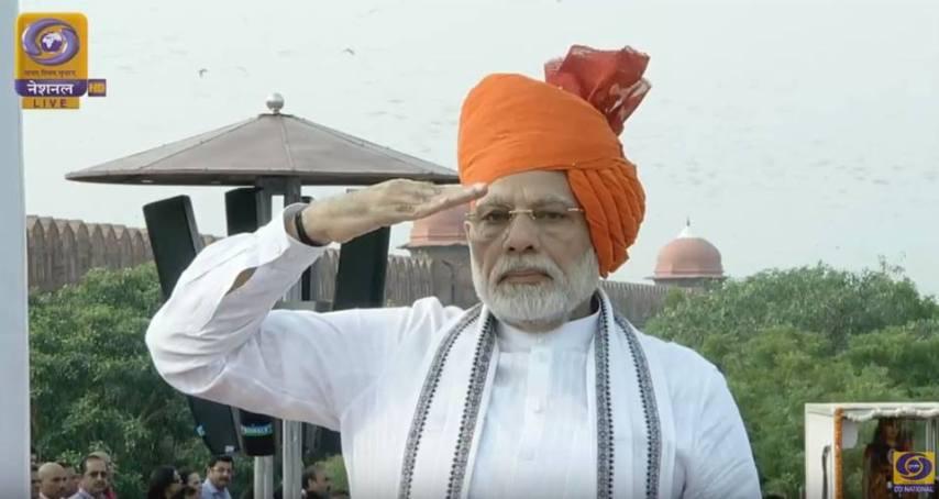 narendra modi, 15 august, red fort, 72 independance day, India, narendra modi full speech, jai hind