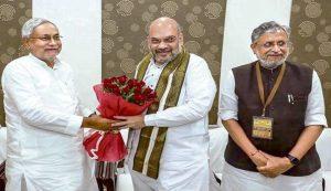 2019 लोकसभा चुनाव: बिहार में 50-50 सीट पर चुनाव लड़ेगी बीजेपी-जदयू