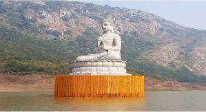 देश में भगवान बुद्ध की दूसरी सबसे ऊंची प्रतिमा का बिहार के राजगीर में हुआ अनावरण