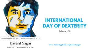 बिहार के महान गणितज्ञ बसंत सागर के सम्मान में मनाया जायेगा 'इंटरनैशनल डे ऑफ़ डेक्सटेरिटी'