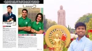फोर्ब्स '30 अंडर 30′ के बाद शरद को अंतरराष्ट्रीय पत्रिका 'हेल्लो' ने भी अपने लिस्ट में जगह दिया